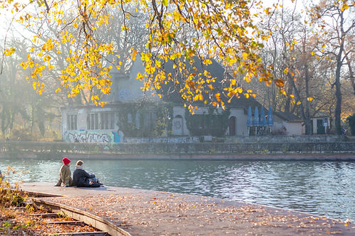 Couple by the Water