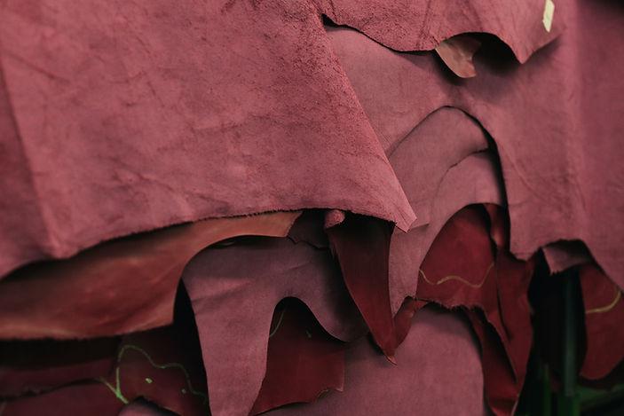 Morceaux de cuir