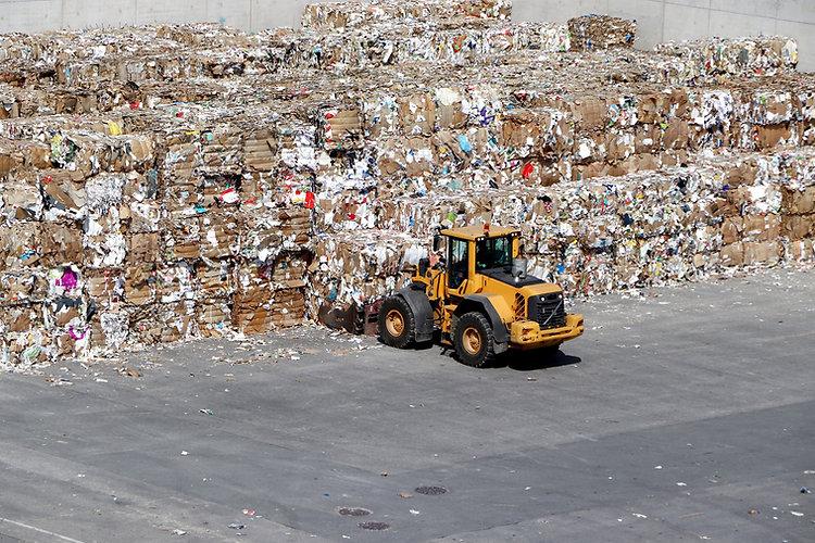 Residuos de papel