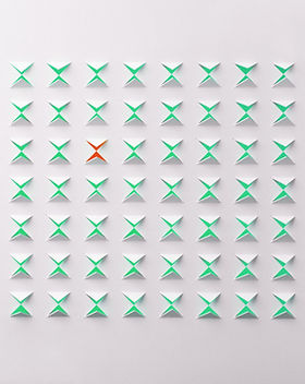 Абстрактные Бумажные Вырезы