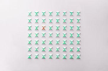 Abstract Paper Cutouts