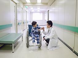 Child on Wheelchair