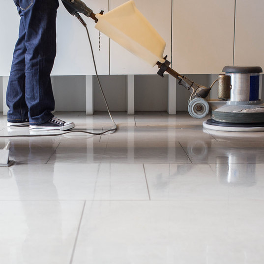 Industrielle Fußbodenreinigung