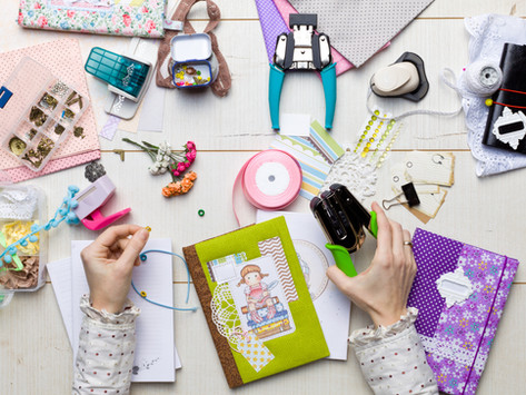 Saturday Writing Prompt -17th July -Scrapbooking