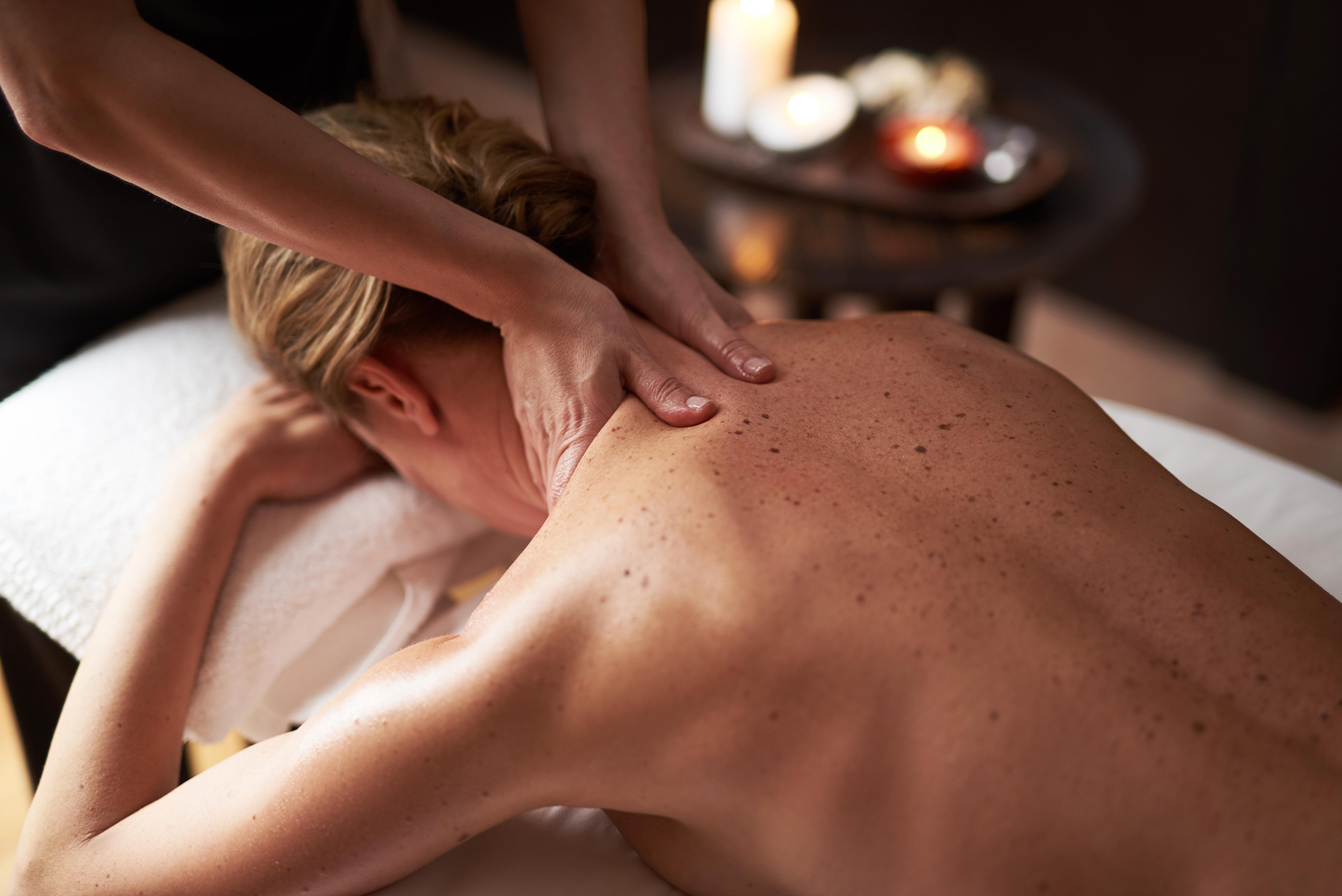 Entspannungsmassage Rücken/Nacken