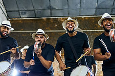 Groupe Latin avec Tambours
