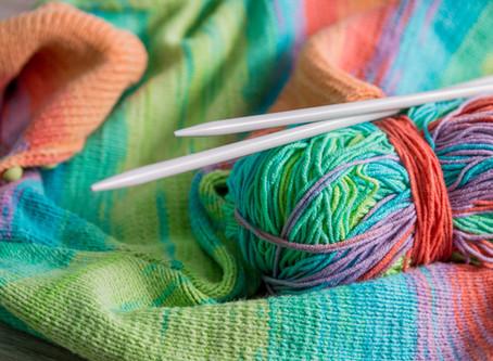 10月30日編み物部のお知らせです。