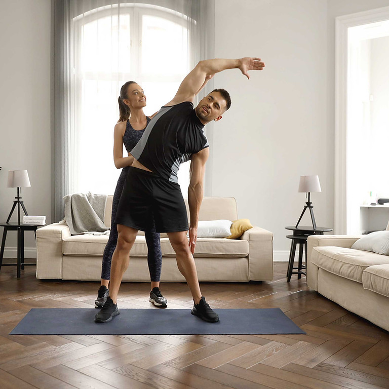 A Valentines Massage + Pilates For Couples