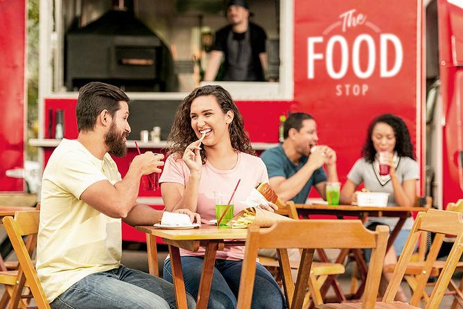Enjoying Fast Food