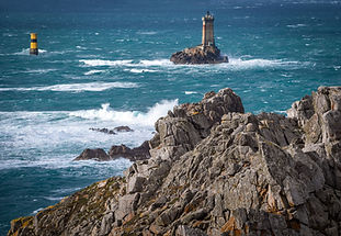 Lighthouse in Brittany