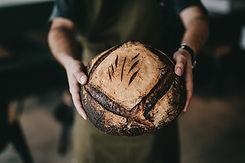 Pagnotta di pane fresca