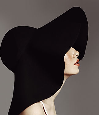 Elegant Woman with Hat