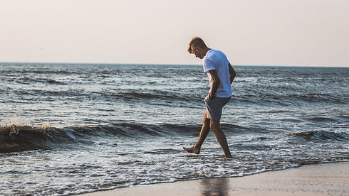 Man on the Shore