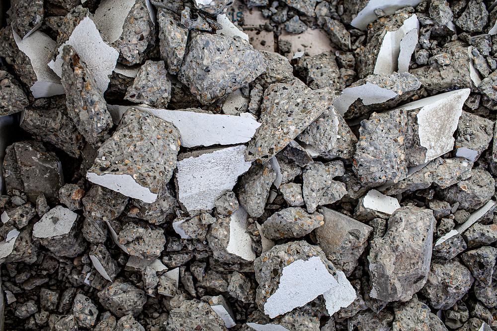 retirada de escombros