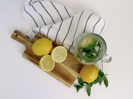 DIY Putzmittel mit Lemon