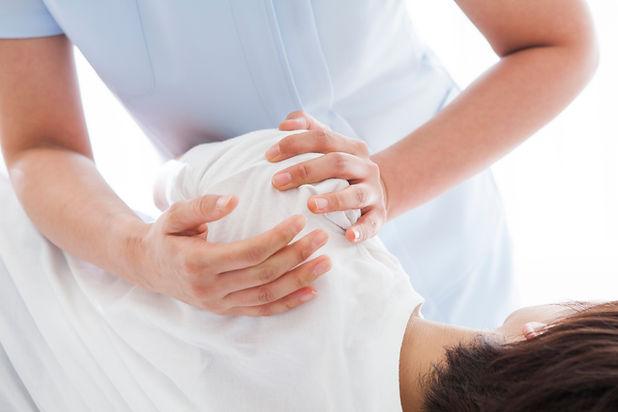 Schulterbehandlung