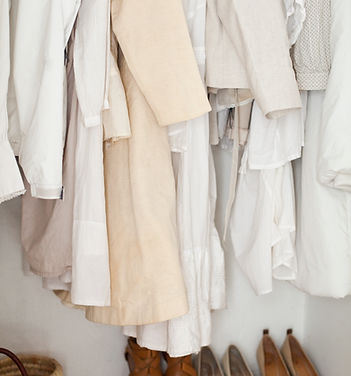 Cream and White Clothes