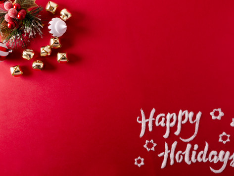 To Our Wonderful Patients – Merry Christmas and Happy New Year!