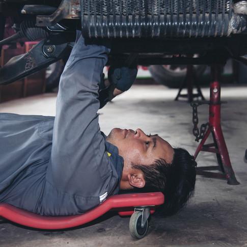 Repairing a Car