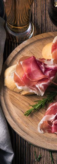 Tapas with Ham