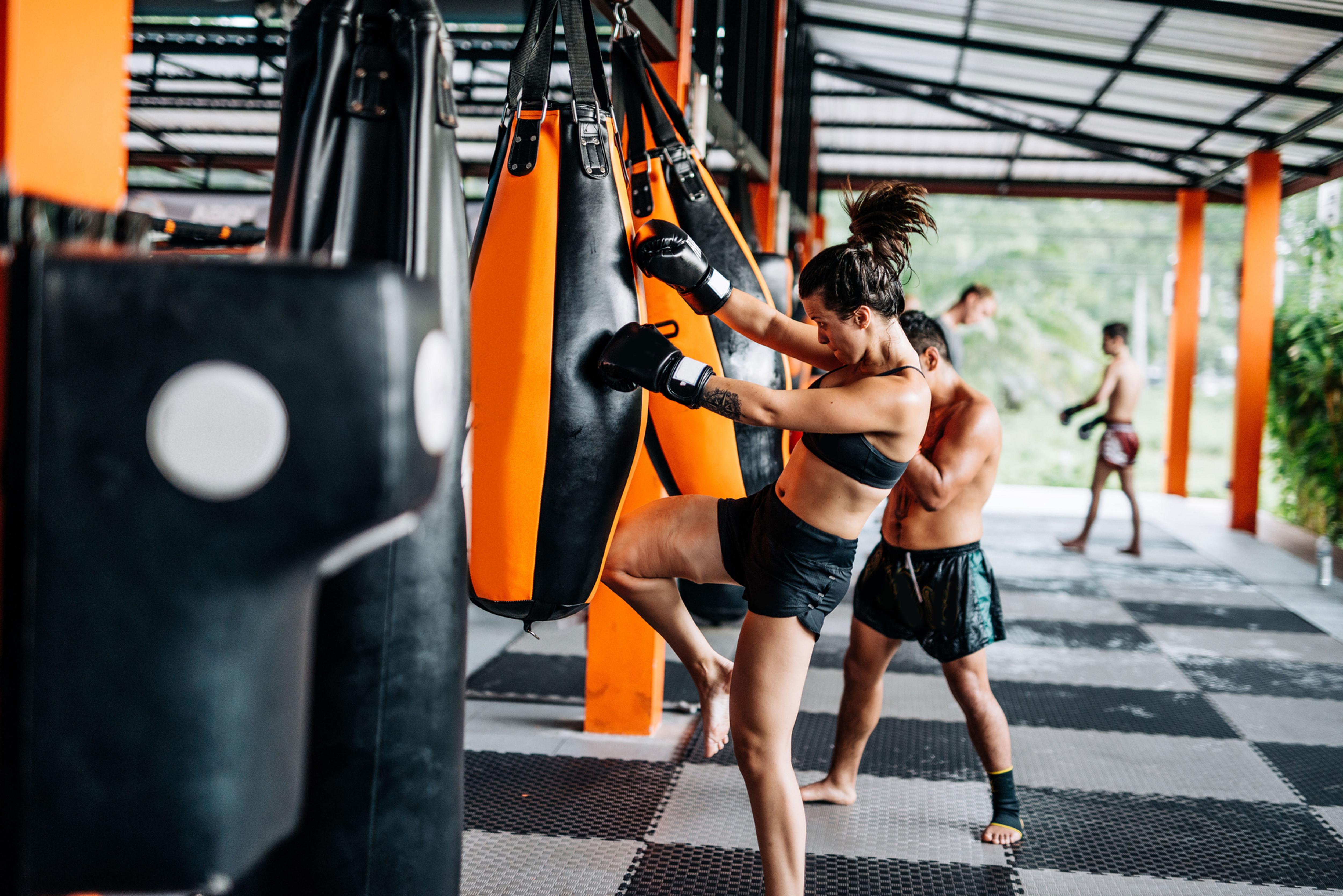 Kick-Boxing and Self Defense