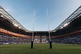 Terrain de rugby