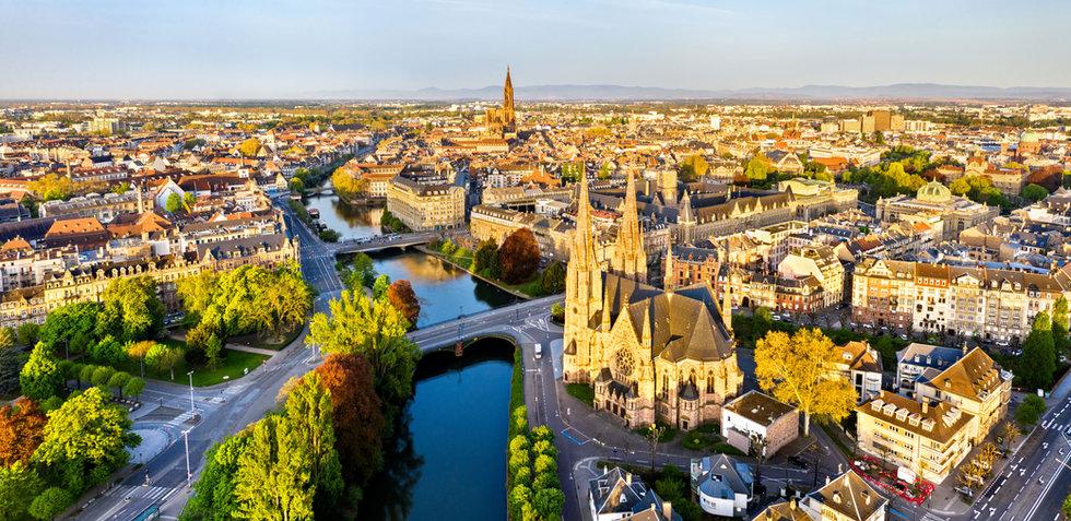Красивый французский город
