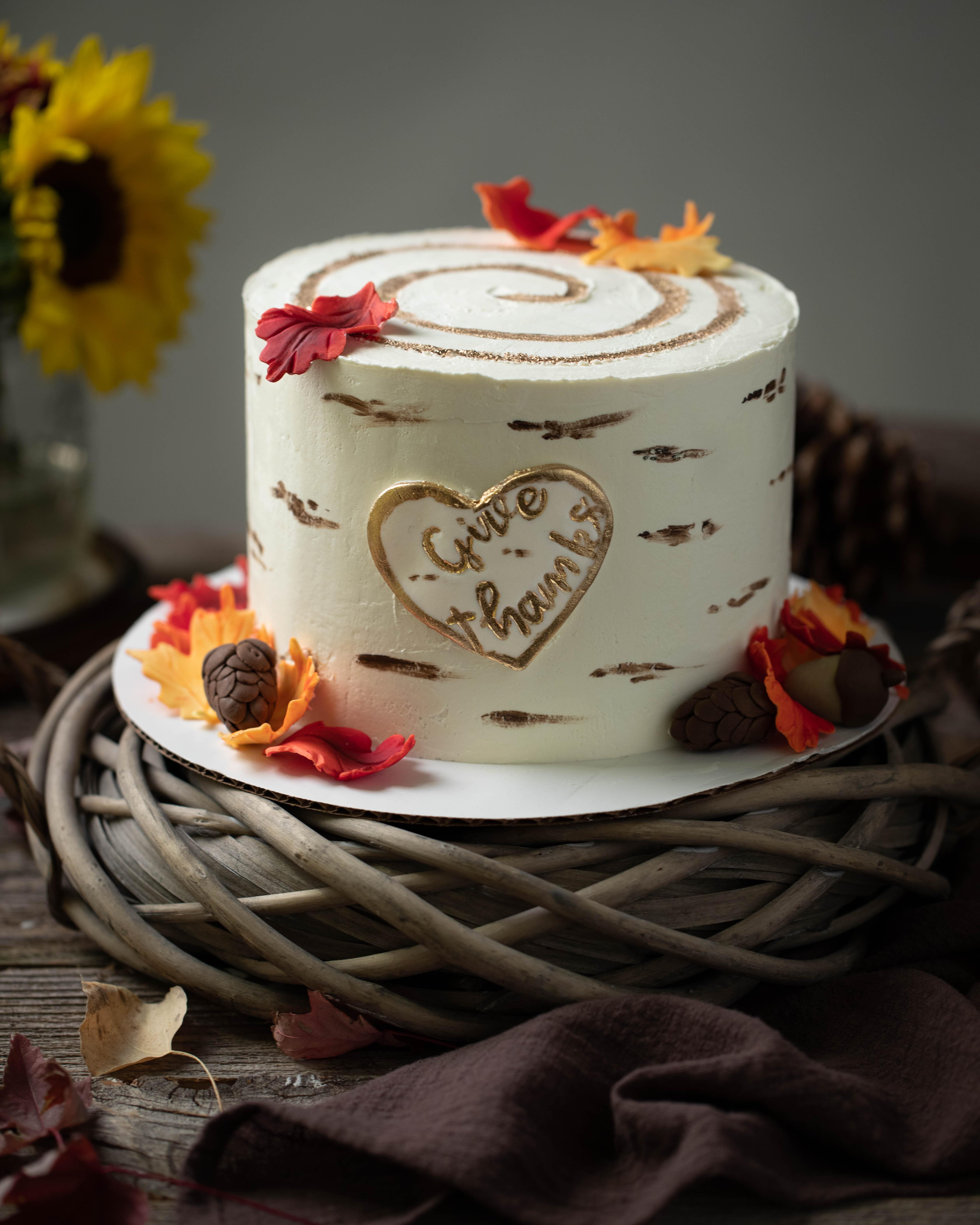 Gâteau décoré