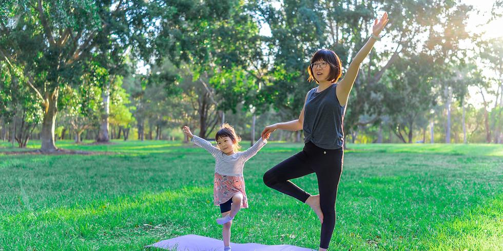 Kinderyoga mit Mama oder Papa (3-6 J.)