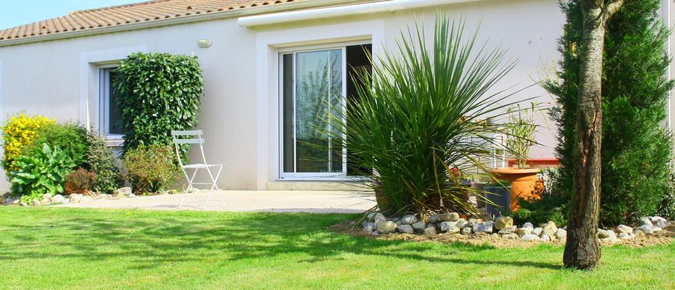 House with a Backyard