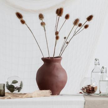 Clay Vase