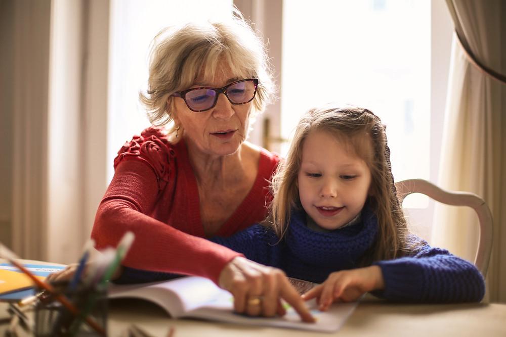 child reading speech therapy speech pathology NDIS ASD down syndrome disability communication