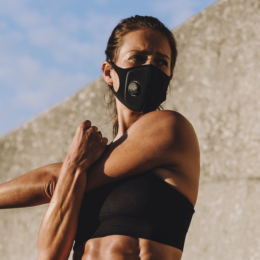 Workout with Mask