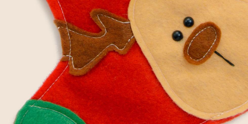 Atelier créatif dès 3 ans - Chaussette de Noël