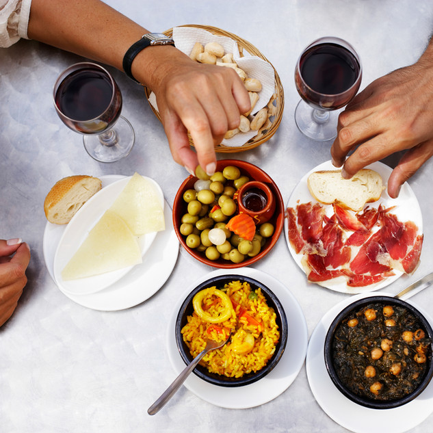 Spaanse maaltijd