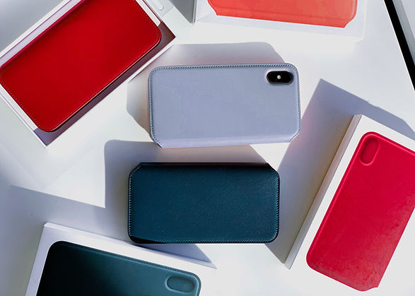 Cajas del teléfono de colores