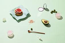 Obst und Kosmetik