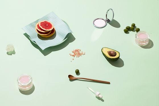 Fruits et cosmétiques