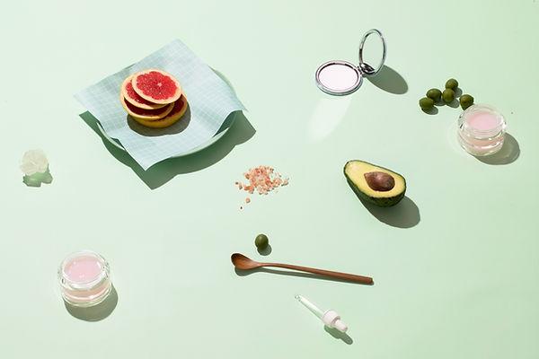 과일과 화장품