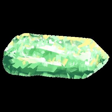 Green Crystal Rock