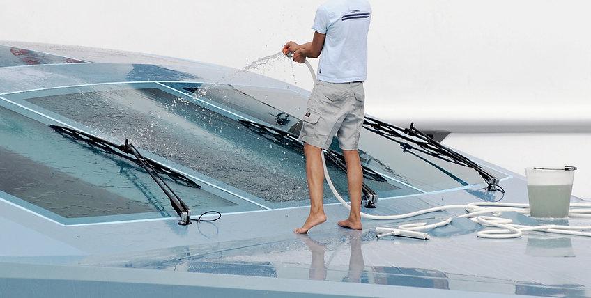 Nettoyeur de bateau
