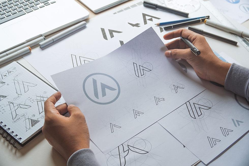 Logo, identity, corporate identity