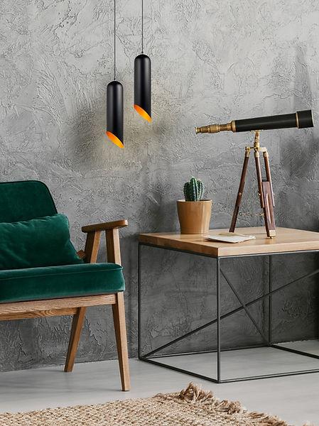Black Hanging Lamps