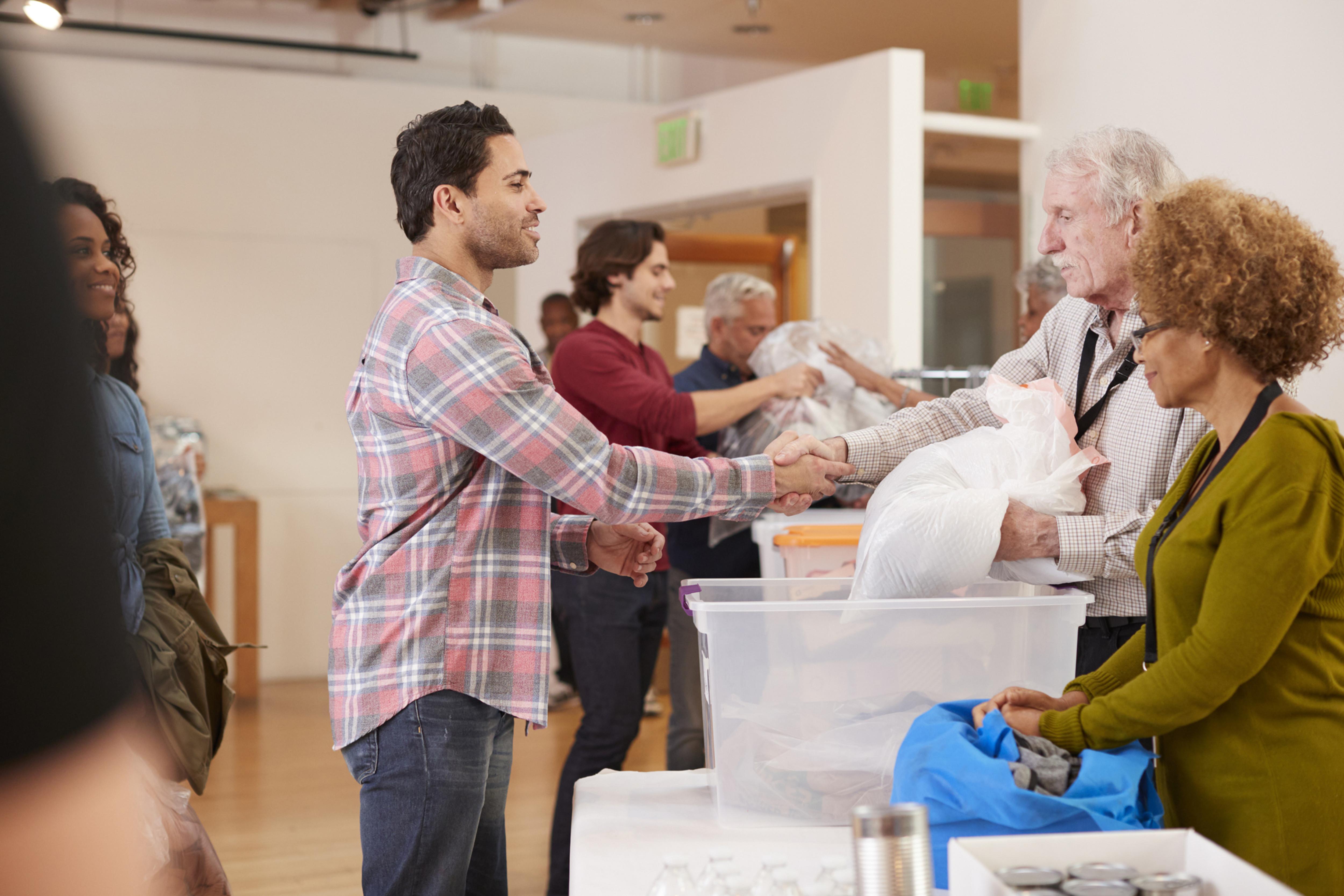 Volunteer for Donation Center