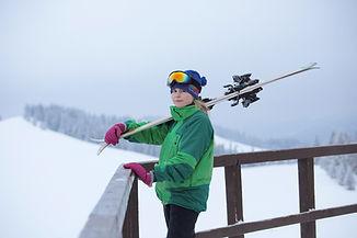 Woman Skier