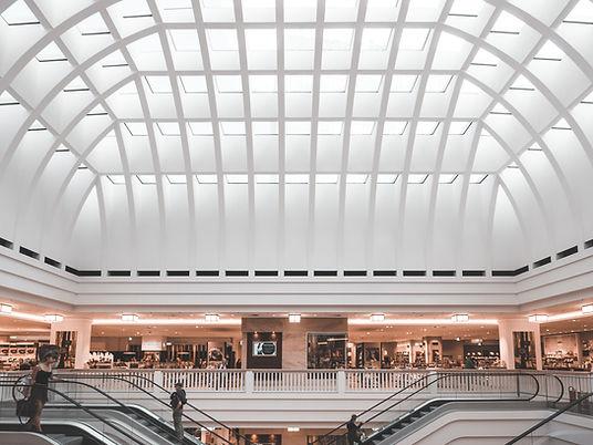 Escalera centro comercial