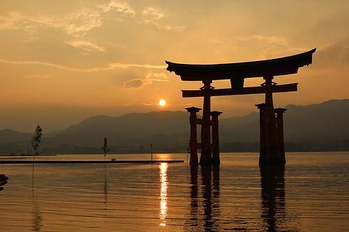 水神社の風景