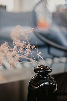 Black Flower Vase