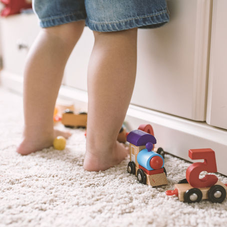 My child walks pigeon toed - what should I do?