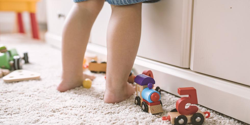 Bewegungsempfehlungen für Kinder 18 Monate bis 2,5 Jahre